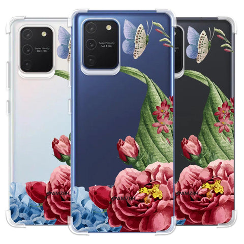 Tulips Soft Flex Tpu Case For Samsung Galaxy S10 Lite