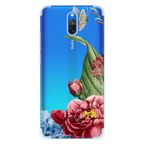 Tulips Soft Flex Tpu Case For Redmi 8A Dual
