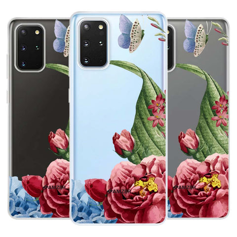 Tulips Soft Flex Tpu Case For Samsung Galaxy S20+