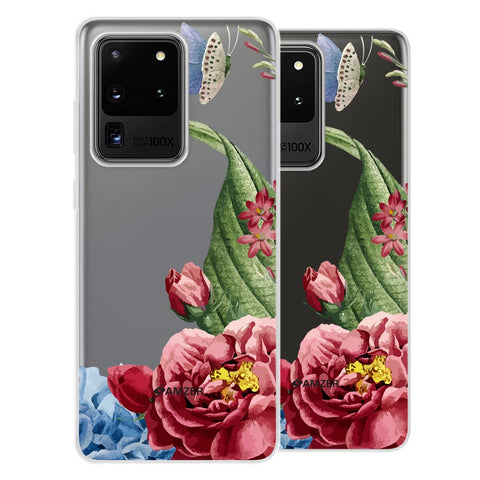 Tulips Soft Flex Tpu Case For Samsung Galaxy S20 Ultra