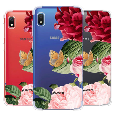 Rose Blossoms Soft Flex Tpu Case For Samsung Galaxy A10e