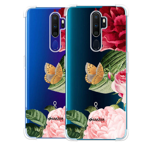 Rose Blossoms Soft Flex Tpu Case For Oppo A9 2020