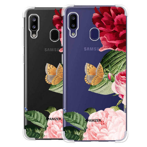 Rose Blossoms Soft Flex Tpu Case For Samsung Galaxy M10s