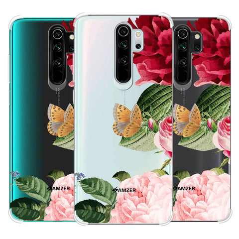 Rose Blossoms Soft Flex Tpu Case For Redmi Note 8 Pro