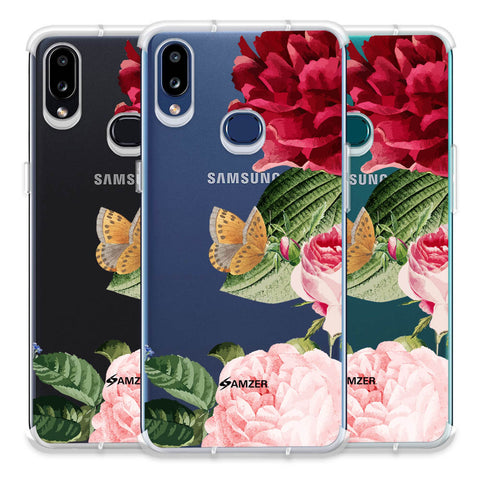Rose Blossoms Soft Flex Tpu Case For Samsung Galaxy A10s