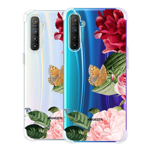 Rose Blossoms Soft Flex Tpu Case For Realme X2