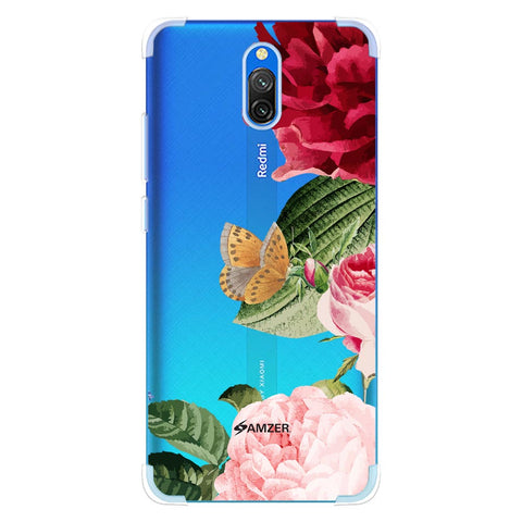 Rose Blossoms Soft Flex Tpu Case For Redmi 8A Dual