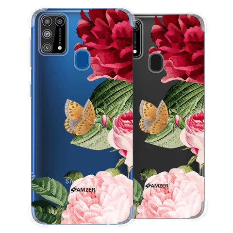 Rose Blossoms Soft Flex Tpu Case For Samsung Galaxy M31