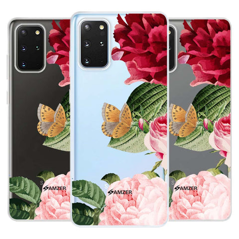 Rose Blossoms Soft Flex Tpu Case For Samsung Galaxy S20+