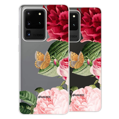 Rose Blossoms Soft Flex Tpu Case For Samsung Galaxy S20 Ultra