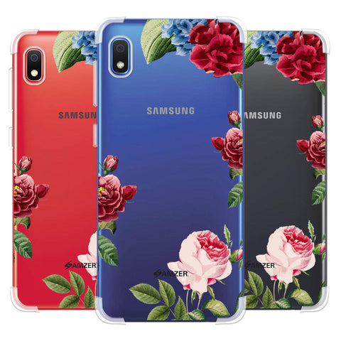 Red/Pink Roses Soft Flex Tpu Case For Samsung Galaxy A10e
