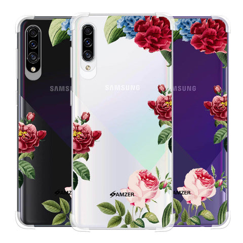 Red/Pink Roses Soft Flex Tpu Case For Samsung Galaxy A30s
