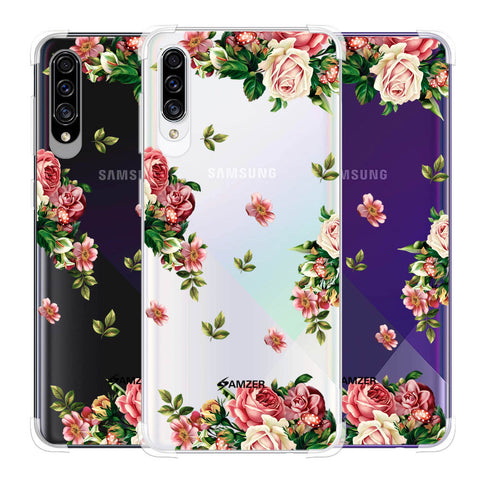 Romantic Antique Pink Soft Flex Tpu Case For Samsung Galaxy A30s