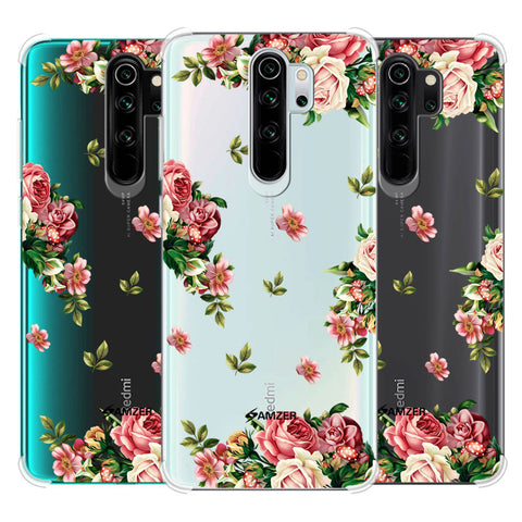 Romantic Antique Pink Soft Flex Tpu Case For Redmi Note 8 Pro