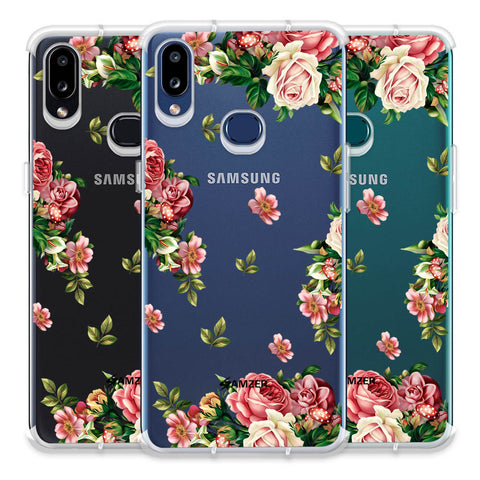 Romantic Antique Pink Soft Flex Tpu Case For Samsung Galaxy A10s
