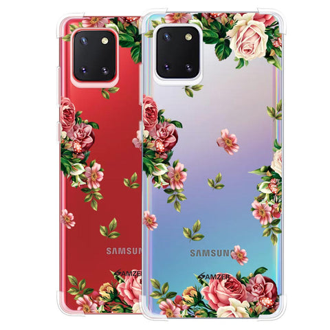 Romantic Antique Pink Soft Flex Tpu Case For Samsung Galaxy Note10 Lite