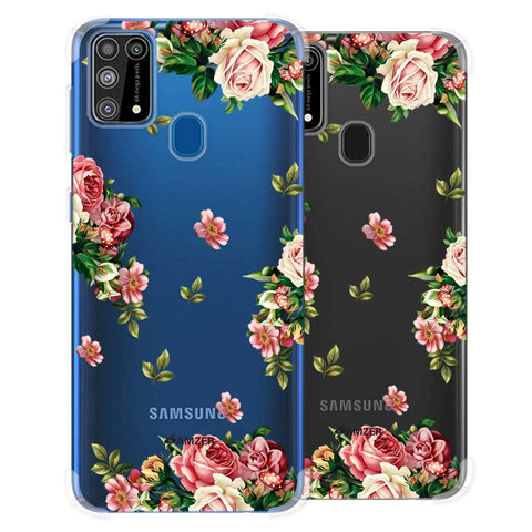 Romantic Antique Pink Soft Flex Tpu Case For Samsung Galaxy M31