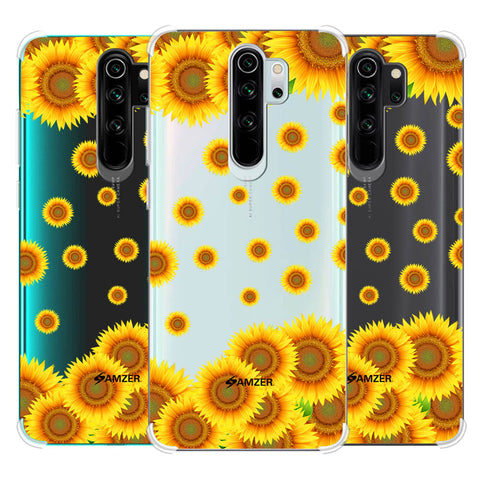 Sunflower Soft Flex Tpu Case For Redmi Note 8 Pro