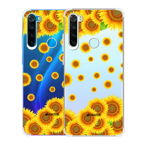 Sunflower Soft Flex Tpu Case For Redmi Note 8