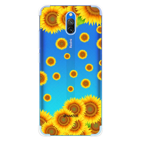Sunflower Soft Flex Tpu Case For Redmi 8A Dual