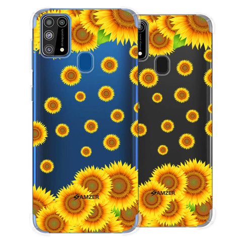 Sunflower Soft Flex Tpu Case For Samsung Galaxy M31