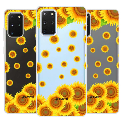 Sunflower Soft Flex Tpu Case For Samsung Galaxy S20+