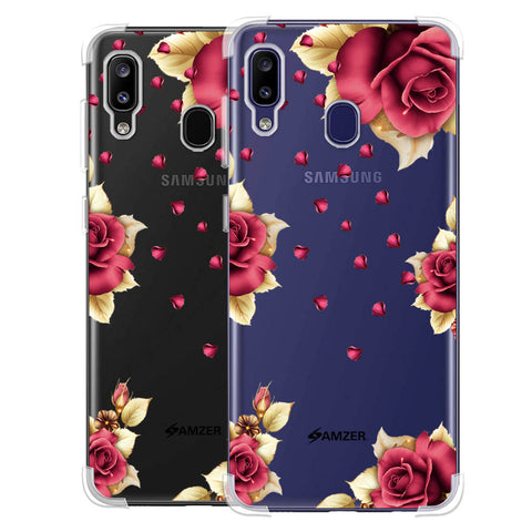 Rose & Petals Soft Flex Tpu Case For Samsung Galaxy M10s