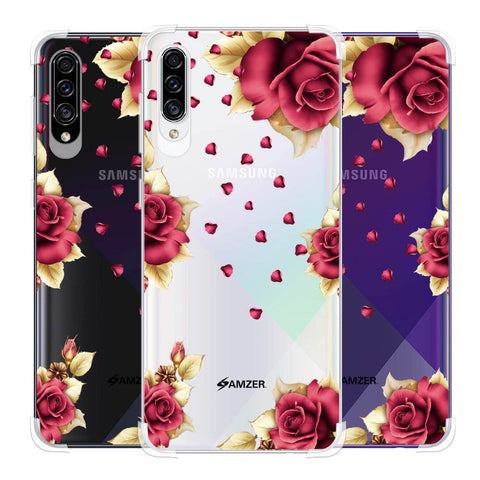 Rose & Petals Soft Flex Tpu Case For Samsung Galaxy A30s