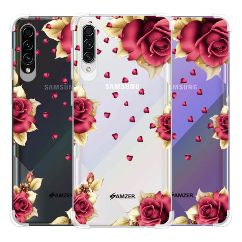 Rose & Petals Soft Flex Tpu Case For Samsung Galaxy A50s