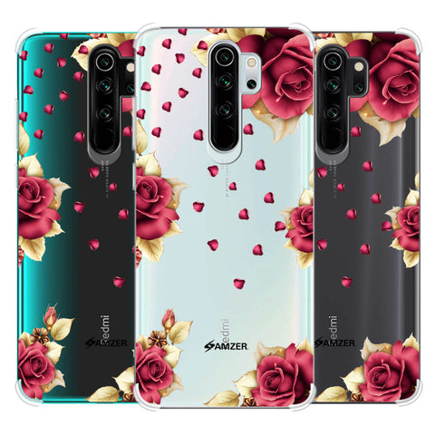 Rose & Petals Soft Flex Tpu Case For Redmi Note 8 Pro