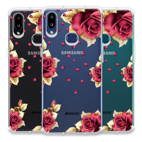 Rose & Petals Soft Flex Tpu Case For Samsung Galaxy A10s
