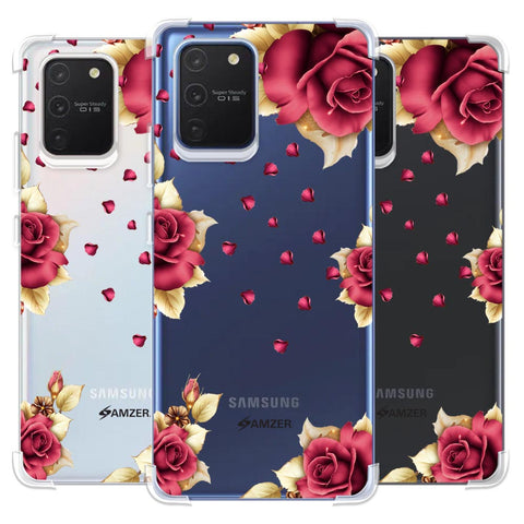 Rose & Petals Soft Flex Tpu Case For Samsung Galaxy S10 Lite