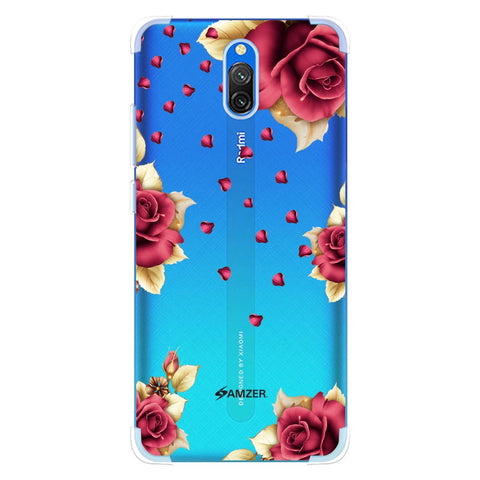 Rose & Petals Soft Flex Tpu Case For Redmi 8A Dual