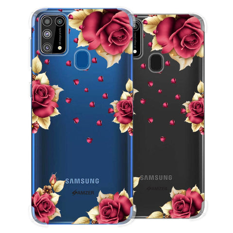 Rose & Petals Soft Flex Tpu Case For Samsung Galaxy M31