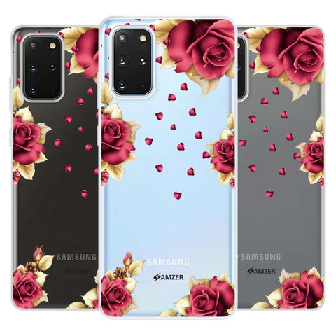 Rose & Petals Soft Flex Tpu Case For Samsung Galaxy S20+