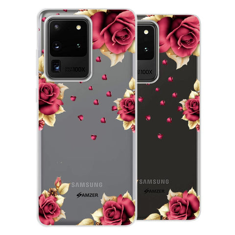 Rose & Petals Soft Flex Tpu Case For Samsung Galaxy S20 Ultra