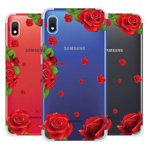 Valentines Rose Soft Flex Tpu Case For Samsung Galaxy A10e
