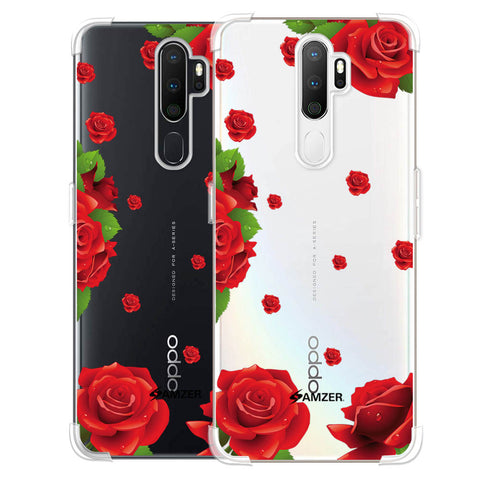 Valentines Rose Soft Flex Tpu Case For Oppo A5 2020