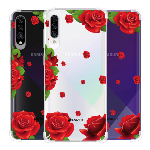 Valentines Rose Soft Flex Tpu Case For Samsung Galaxy A30s