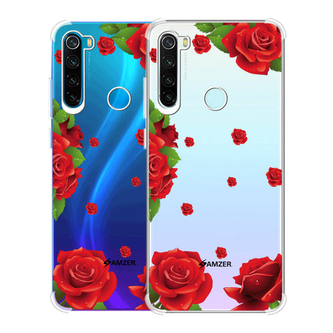 Valentines Rose Soft Flex Tpu Case For Redmi Note 8