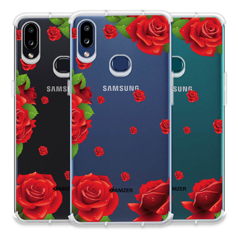 Valentines Rose Soft Flex Tpu Case For Samsung Galaxy A10s
