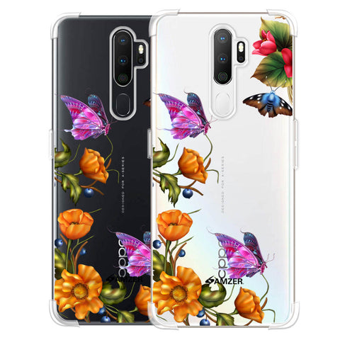 Butterfly Kingdom Soft Flex Tpu Case For Oppo A5 2020