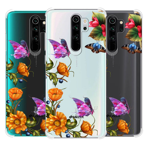 Butterfly Kingdom Soft Flex Tpu Case For Redmi Note 8 Pro