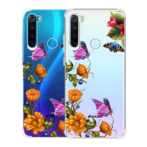 Butterfly Kingdom Soft Flex Tpu Case For Redmi Note 8