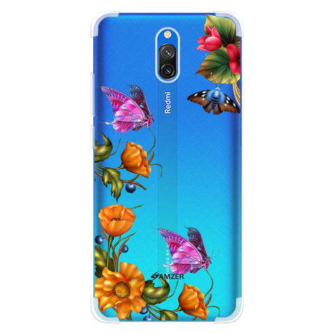 Butterfly Kingdom Soft Flex Tpu Case For Redmi 8A Dual