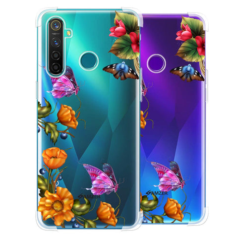 Butterfly Kingdom Soft Flex Tpu Case For Realme 5 Pro