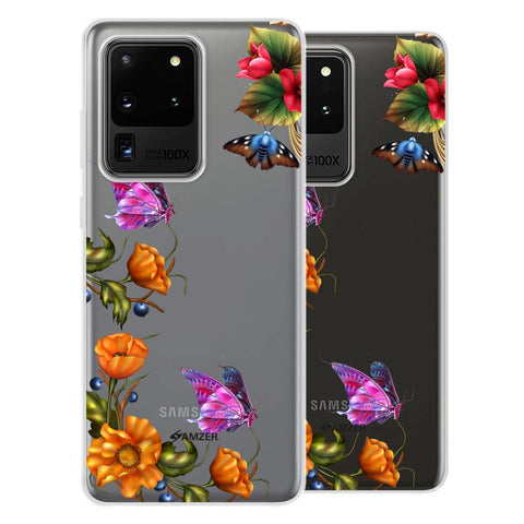 Butterfly Kingdom Soft Flex Tpu Case For Samsung Galaxy S20 Ultra
