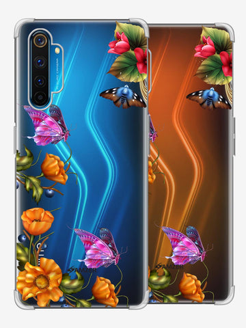 Butterfly Kingdom Soft Flex Tpu Case For Realme 6 Pro