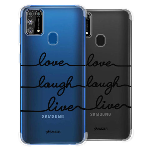Love Laugh Live Soft Flex Tpu Case For Samsung Galaxy M31