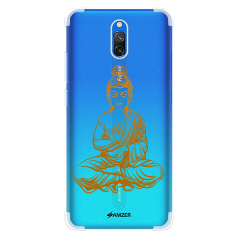 Lord Buddha Soft Flex Tpu Case For Redmi 8A Dual